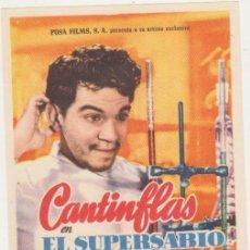 Cine: CANTINFLAS. EL SUPERSABIO. SENCILLO. IMPECABLE. Lote 210960871