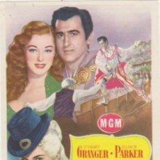 Cine: SCARAMOUCHE. SENCILLO DE MGM. GRAN CINEMA ALKÁZAR. UBRIQUE. Lote 210960881