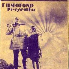 Cine: GUILLERMO TELL PROGRAMA DOBLE. TEATRO PRINCIPAL DE ALCOY. Lote 211266322