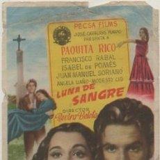 Cine: PROGRAMA DE CINE: LUNA DE SANGRE. SIN PUBLICIDAD PC-4699. Lote 211269711