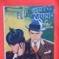Cine: EL MUERTO MURIO, DOBLE, EL CHATO ORTIN, C/P CINE CATALUÑA CINE TRIUNFO. Lote 211423587