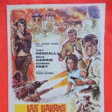 Cine: LAS GARRAS DEL DRAGON ROJO, IMPECABLE SENCILLO, TONY KENDALL, C/P MONTERROSA 1968. Lote 211426341