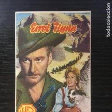 Cine: CERCO DE FUEGO - PROGRAMA DE CINE BADALONA C/P 1951. Lote 211481854