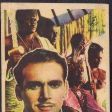 Cine: PROGRAMA SENCILLO DE TRADICIÓN HEROICA (1939) - CINEMA JÚCAR DE ALCÀNTERA DE XÚQUER. Lote 211558596