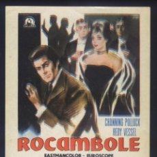 Cine: P-8810- ROCAMBOLE: EL LADRÓN DE GUANTES BLANCOS (ROCAMBOLE CONTRE SERVICES SECRETS) CHANNING POLLOCK. Lote 211569266