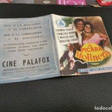 Cine: PROGRAMA DE MANO ORIG DOBLE - LA PÍCARA MOLINERA - CINE DE ZARAGOZA. Lote 211590582