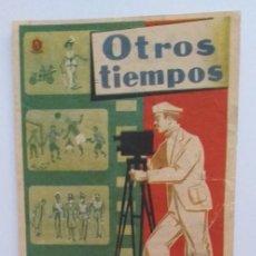 Cine: OTROS TIEMPOS PROGRAMA DE CINE CON PUBLICIDAD. Lote 211604310