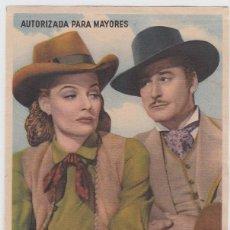 Cine: RIO DE PLATA. FOLLETO DE MANO. SENCILLO CON PUBLICIDAD, CINE WOOD. TAFIRA.. Lote 211679028