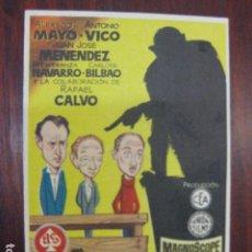 Cine: SUSPENSO EN COMUNISMO - FOLLETO MANO ORIGINAL - ALFREDO MAYO ANTONIO VICO JUANJO MENENDEZ JANO. Lote 211699239