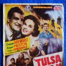 Cine: TULSA CIUDAD DE LUCHA. Lote 211771473