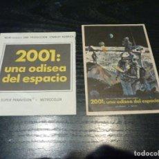 Flyers Publicitaires de films Anciens: 2 PROGRAMAS IMPRESOS EN LA PARTE TRASERA. Lote 211902803