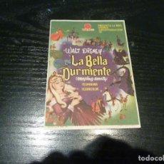 Flyers Publicitaires de films Anciens: PROGRAMA DE CINE IMPRESO EN LA PARTE TRASERA. Lote 211904275