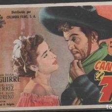 Flyers Publicitaires de films Anciens: PROGRAMA DE MANO DE LA PELÍCULA EL 7 MACHOS DE CANTIFLAS EN EL TEATRO PRINCIPAL DE REINOSA. Lote 211962192