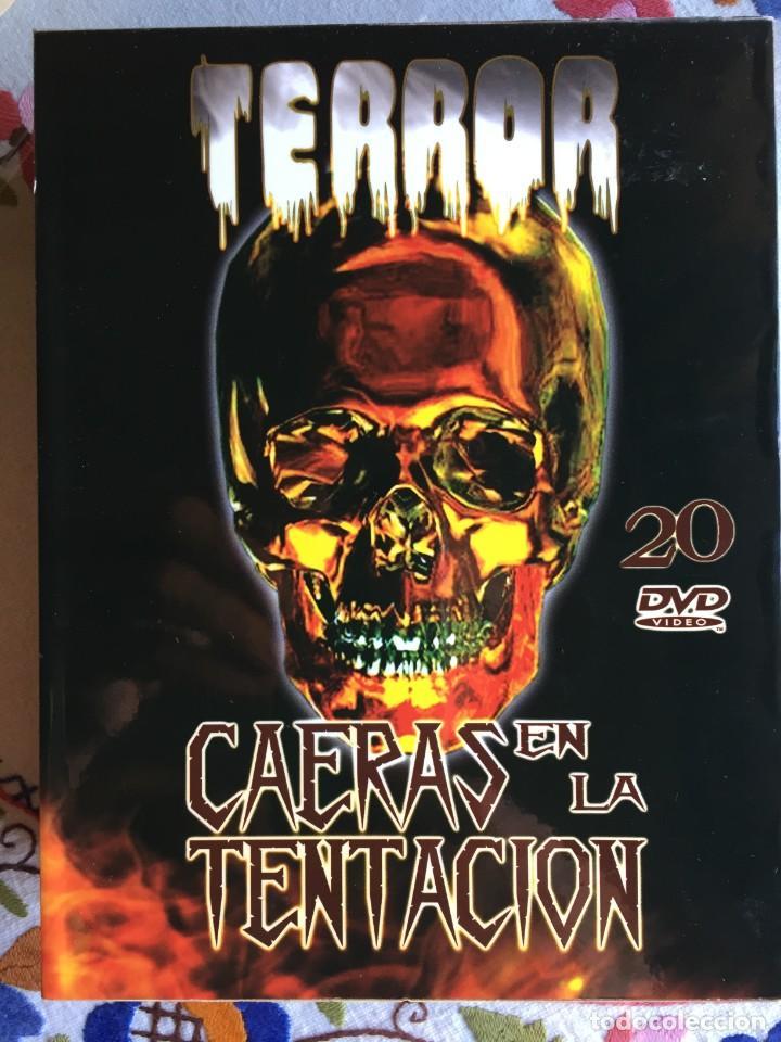 TERROR. CAERÁS EN LA TENTACIÓN 20 DVD (Cine - Folletos de Mano - Terror)