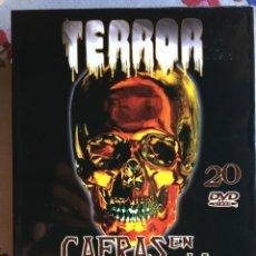 Cine: TERROR. CAERÁS EN LA TENTACIÓN 20 DVD. Lote 212088345
