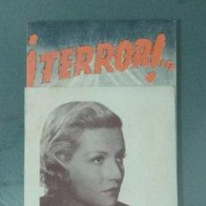 Cine: TERROR - PROGRAMA DE CINE DOBLE. Lote 212168165
