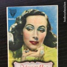 Flyers Publicitaires de films Anciens: LA OTRA - PROGRAMA DE CINE C/P BADALONA. Lote 212210262