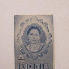 Cine: LA DOLORES - CONCHITA PIQUER. Lote 212465505