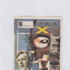 Cine: EL HOMBRE CON RAYOS X EN LOS OJOS. PROGRAMA DE CINE. SENCILLO SIN PUBLICIDAD.. Lote 212684470