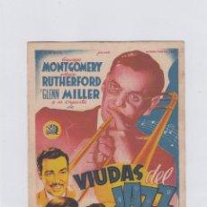 Cine: VIUDAS DEL JAZZ. PROGRAMA DE CINE. SENCILLO SIN PUBLICIDAD.. Lote 212728098