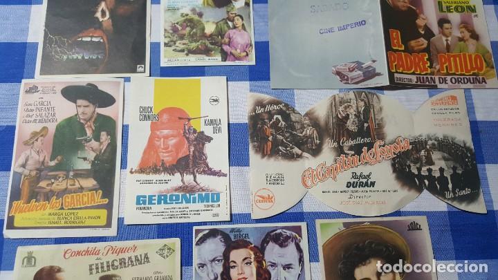 Cine: LOTE 12 PROGRAMAS DE CINE ANTIGUOS (LOTE 1). - Foto 4 - 212741072