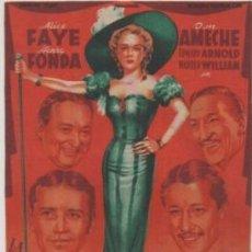 Flyers Publicitaires de films Anciens: PROGRAMA DE CINE: REINA DE LA CANCION. REVERSO IMPRESO PC-4779. Lote 212767471