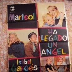 Cine: (CINE-77)HA LLEGADO UN ANGEL MARISOL POSTER ORIGINAL. Lote 212888652