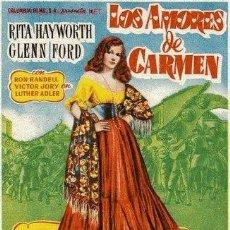 Cine: LOS AMORES DE CARMEN. Lote 212912007