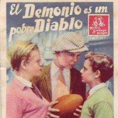 Cine: EL DEMONIO ES UN POBRE DIABLO. Lote 212913426