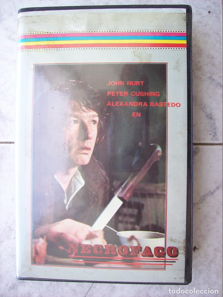 NECROFAGO 1975 PETER CUSHING VHS (Cine - Folletos de Mano - Terror)