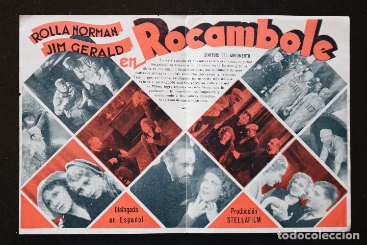 Cine: ROCAMBOLE - PROGRAMA DOBLE DE CINE DE MANO - DIFÍCIL - Foto 3 - 213239571
