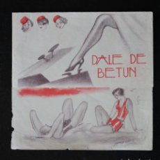 Cine: DALE DE BETUN - PROGRAMA DOBLE DE CINE DE MANO - DIFÍCIL. Lote 213240280