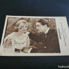Foglietti di film di film antichi di cinema: PROGRAMA DE MANO ORIG TARJETA - DELICIOSA - CINE CENTRAL 1932. Lote 213453092