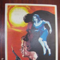Cine: PERSECUCION IMPLACABLE - FOLLETO MANO ORIGINAL - DIRK BOGARDE GEORGE CHAKIRIS RALPH THOMAS IMPRESO. Lote 213570717