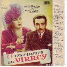 Cine: EL TESTAMENTO DEL VIRREY. Lote 213703126