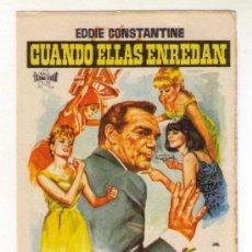 Cine: CUANDO ELLAS ENREDAN. Lote 213703180