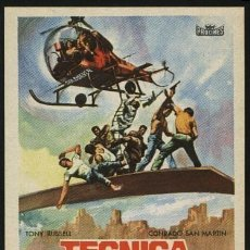 Cine: TECNICA DE UN ESPIA. Lote 213703491