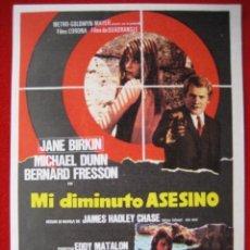 Cine: MI DIMINUTO ASESINO. Lote 213705507