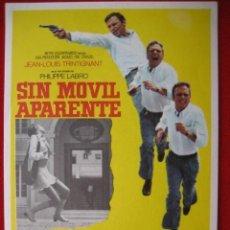 Cine: SIN MOVIL APARENTE. Lote 213706040