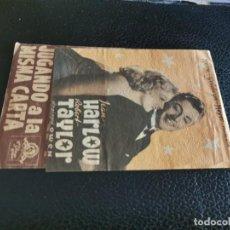 Foglietti di film di film antichi di cinema: PROGRAMA DE MANO ORIG DOBLE - JUGANDO A LA MISMA CARTA- CINEMA VICTORIA. Lote 213938435