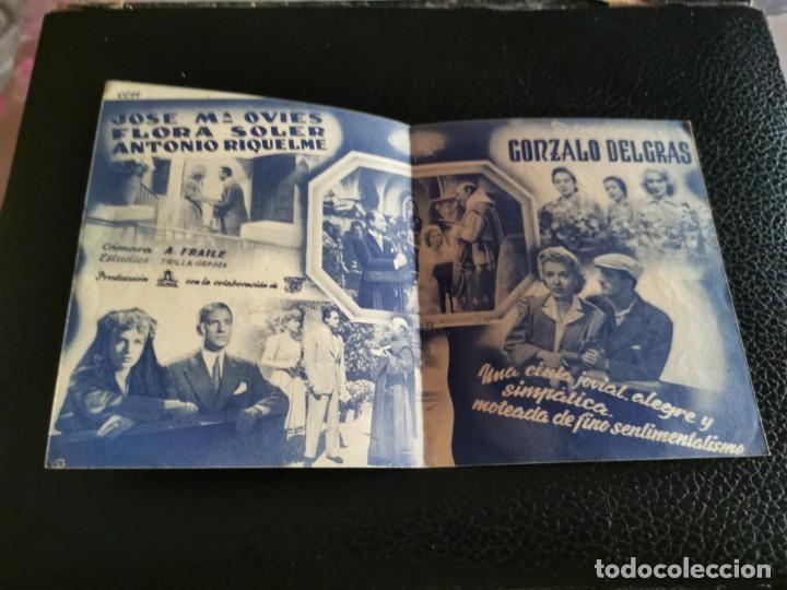 Cine: PROGRAMA DE MANO ORIG DOBLE - LA BODA DE QUINITA FLORES - CINE CENTRO - Foto 2 - 213938735