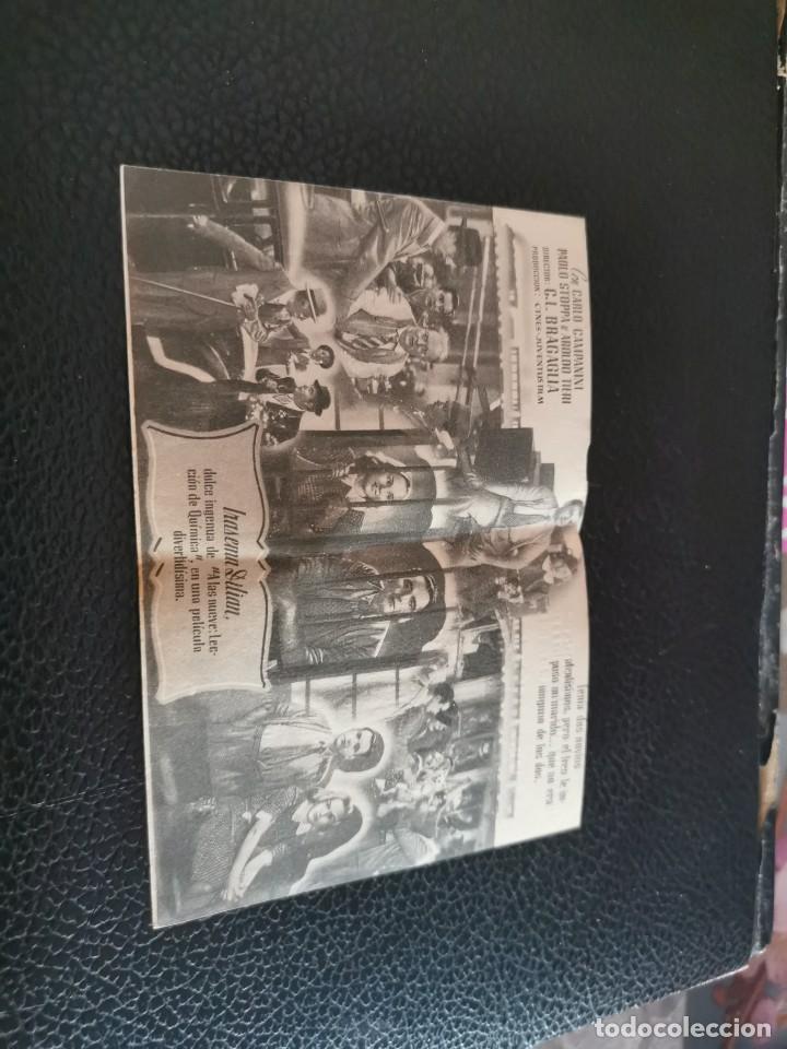 Cine: PROGRAMA DE MANO ORIG DOBLE - LA CULPA FUE DEL TREN - CINE CENTRO ESPAÑOL - Foto 2 - 213960937
