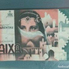 Cine: LA CANCION DE AIXA - PROGRAMA DOBLE DE MANO.. Lote 214135281