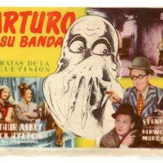 Cine: ARTURO Y SU BANDA, CON ARTHUR ASKEY.. Lote 214204176