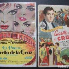 Cine: CURRITO DE LA CRUZ, DOS VERSIONES DEL MISMO TÍTULO. Lote 214370792