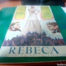 Cine: PROGRAMA DE CINE DOBLE. REBECA DE ALFRED HITCHCOCK. CINE VICTORIA. 1943. Lote 214531875