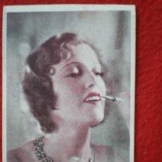 Cine: RARO PROGRAMA CINE TARJETA AÑO 1931: MONTE CARLO CON PUBLICIDAD ZARAGOZA - JEANETTE MAC DONALD. Lote 214695760