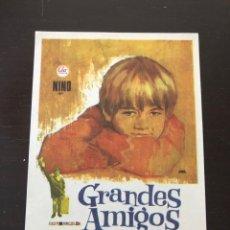 Cine: FOLLETO DE MANO GRANDES AMIGOS. Lote 214782737