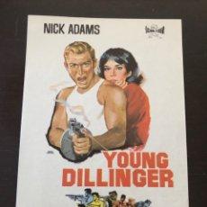 Cine: FOLLETO DE MANO YOUNG DILLINGER. Lote 214784045
