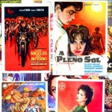 Foglietti di film di film antichi di cinema: LOTE DE 50 FOLLETOS PROGRAMAS DE CINE ORIGINALES TODOS DIFERENTES EN PERFECTO ESTADO. Lote 214937011